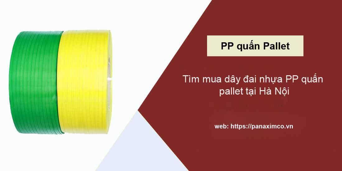 dây đai nhựa pp quấn pallet